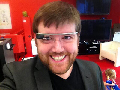 me in Google Glass